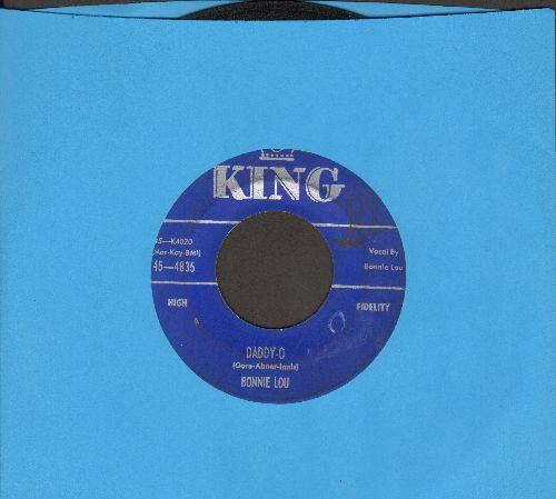 Bonnie Lou - Daddy-O/Dancing In My Socks  - VG7/ - 45 rpm Records