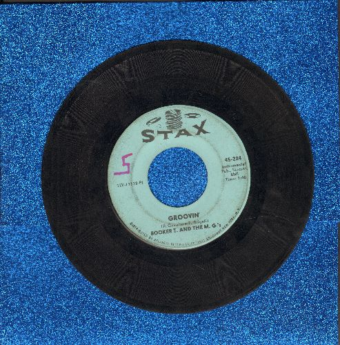 Booker T. & The M.G.'s - Groovin'/Slim Jenkin's Place (wol) - VG7/ - 45 rpm Records