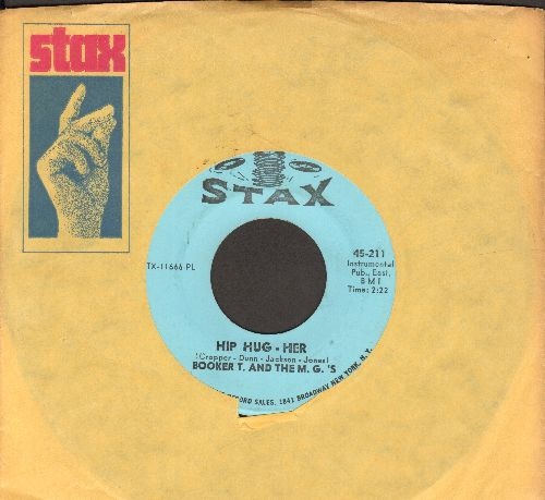 Booker T. & The M.G.'s - Hip Hug-Her/Summertime (with vintage Stax company sleeve) - NM9/ - 45 rpm Records