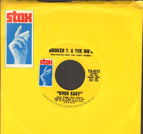 Booker T. & The M.G.'s - Over Easy/Hang 'Em High (MINT condition with vintage Stax company sleeve) - M10/ - 45 rpm Records
