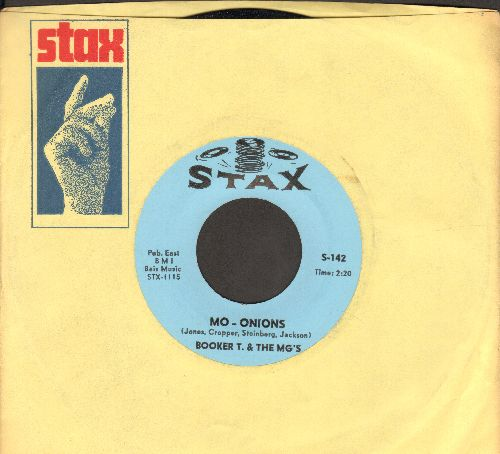 Booker T. & The M.G.'s - Mo - Onions/Fannie Mae (MINT condition with vintage Stax company sleeve) - M10/ - 45 rpm Records