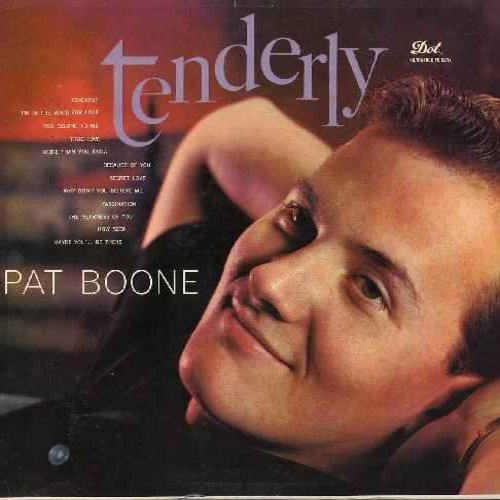 Boone, Pat - Tenderly: True Love, Secret Love, Fascination, You Belong To Me (woc) - EX8/EX8 - LP Records