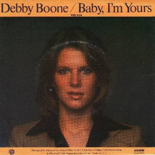 Boone, Debby - Baby, I'm Yours/God Knows (with picture sleeve) - EX8/EX8 - 45 rpm Records