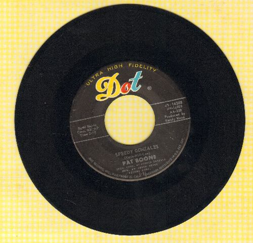 Boone, Pat - Speedy Gonzales/The Locket - EX8/ - 45 rpm Records