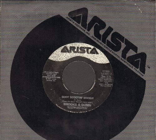 Brooks & Dunn - Boot Scootin' Boogie/My Next Broken Heart (with Arista company sleeve) - EX8/ - 45 rpm Records