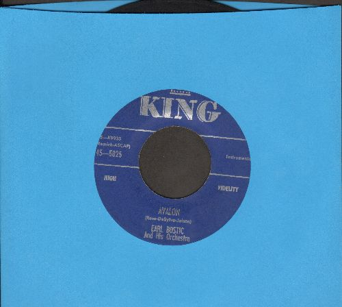 Bostic, Earl - Avalon/Too Fine For Crying - EX8/ - 45 rpm Records