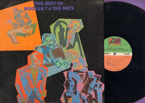 Booker T. & The M.G.'s - The Best Of: Green Onions, Groovin', Mo' Onions, Summertime, Hip Hug-Her, Jellybread (vinyl STEREO LP record, re-issue) - NM9/VG7 - LP Records