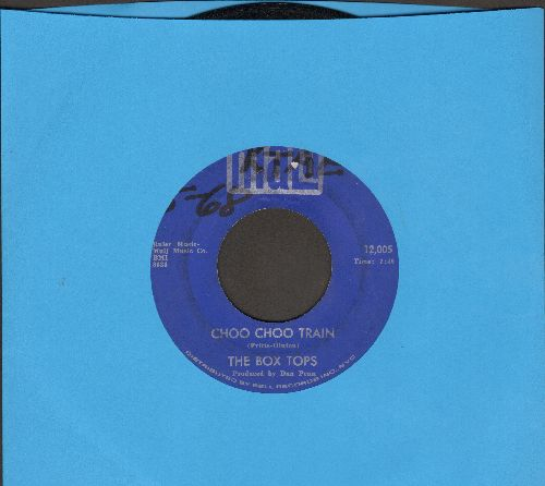 Box Tops - Choo Choo Train/Fields Of Clover (wol) - EX8/ - 45 rpm Records