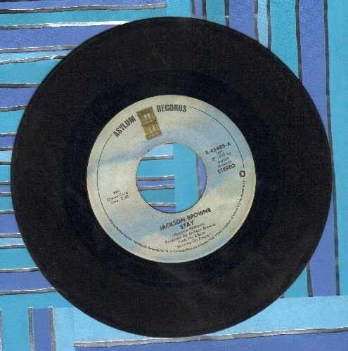 Browne, Jackson - Stay/Rosie  - VG7/ - 45 rpm Records