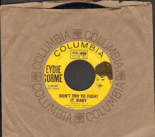 Gorme, Eydie - Don't Try To Fight It, Baby/Theme From Light Fantastic (My Secret World) (MINT condition with vintage Columbia company sleeve) - M10/ - 45 rpm Records