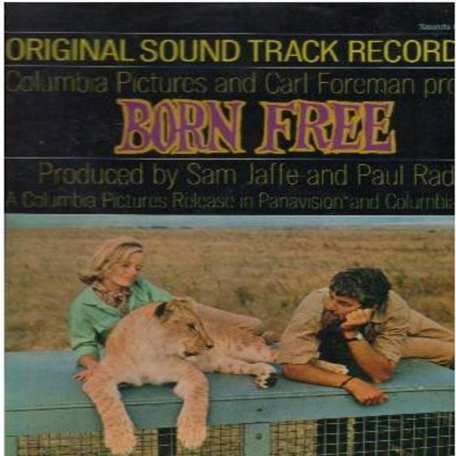 Barry, John - Born Free - Original Motion Picture Sound Track, Music Composed and Conducted by John Barry (vinyl STEREO LP record, SEALED, never opened!) - SEALED/SEALED - LP Records