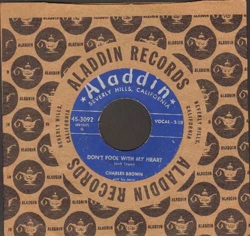 Brown, Charles - Don't Fool With My Heart/Seven Long Day - VG6/ - 45 rpm Records