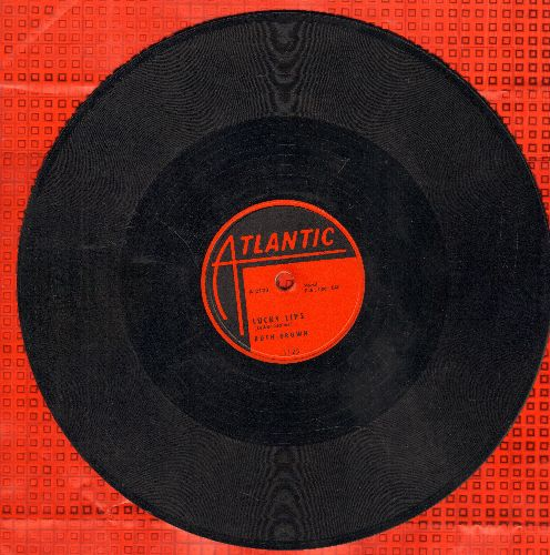 Brown, Ruth - Lucky Lips/My Heart6 Is Breaking Over You (10 inch 78 rpm record) - EX8/ - 78 rpm