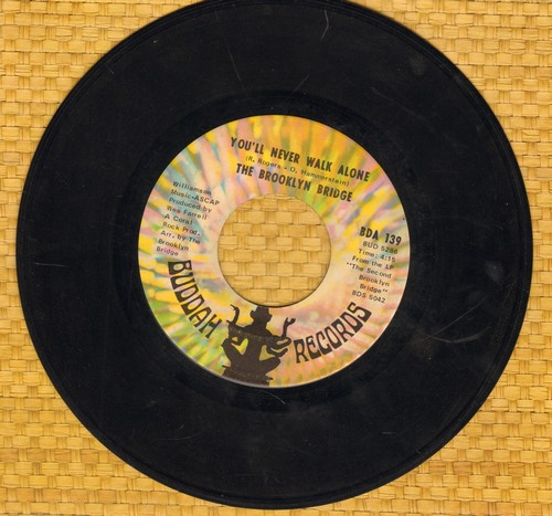 Brooklyn Bridge - You'll Never Walk Alone/Minstral Sunday  - VG7/ - 45 rpm Records