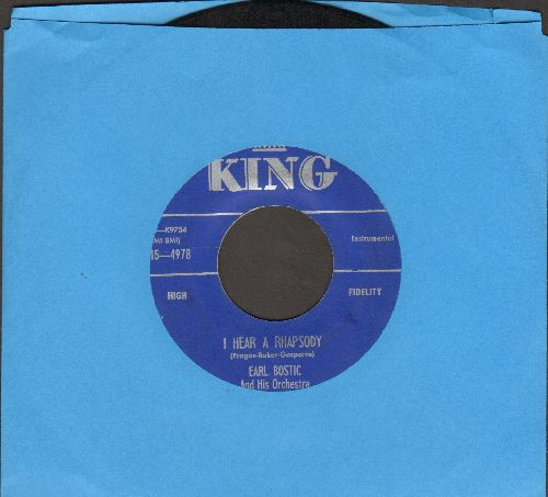Bostic, Earl & His Orchestra - I Hear A Rhapsody/Harlem Nocturne - EX8/ - 45 rpm Records