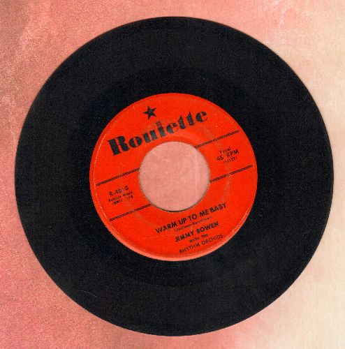 Bowen, Jimmy - Warm Up To Me Baby/I Trusted You (red label first issue) - VG7/ - 45 rpm Records