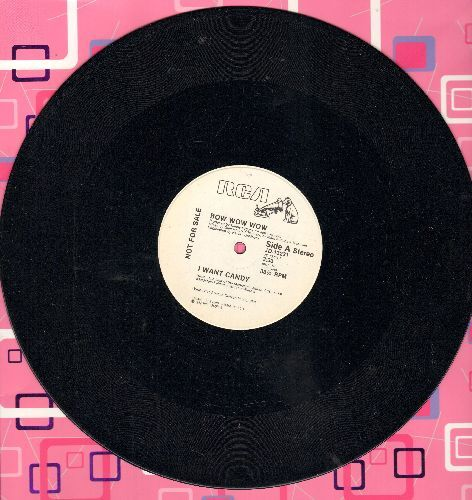 Bow Wow Wow - I Want Candy (double-A-sided Maxi Single, DJ advance pressing) - NM9/ - Maxi Singles