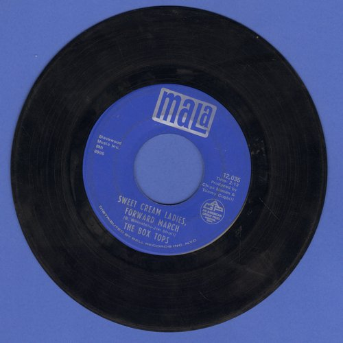 Box Tops - Sweet Cream Ladies, Forward March/I See Only Sunshine (sol) - EX8/ - 45 rpm Records