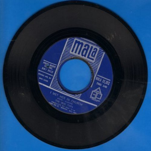 Box Tops - People Gonna Talk/I Met Her In Church (bb) - NM9/ - 45 rpm Records