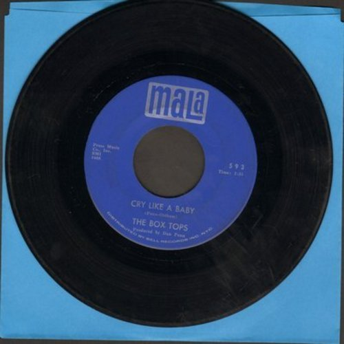 Box Tops - Cry Like A Baby/The Door You Closed To Me (wol) - EX8/ - 45 rpm Records