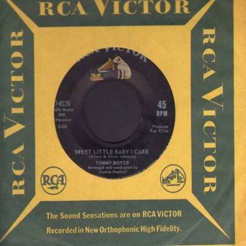 Boyce, Tommy - Have You Had A Change Of Heart/Sweet Little Baby I Care (with RCA company sleeve) - EX8/ - 45 rpm Records
