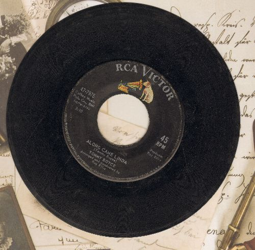Boyce, Tommy - Along Came Linda/You Look So Lonely  - VG6/ - 45 rpm Records