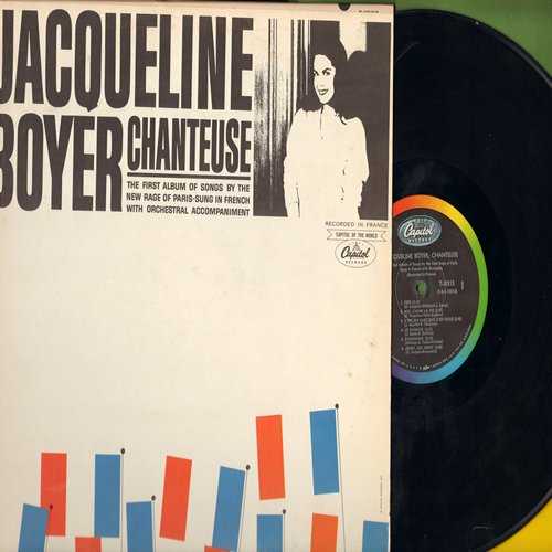 Boyer, Jaqueline - Chanteuse: Pepe, Jenny Oh Jenny, Magdalena, Moi J'aime La Vie, Le Guimick (vinyl MONO LP record, US Pressing, sung in French) - EX8/EX8 - LP Records