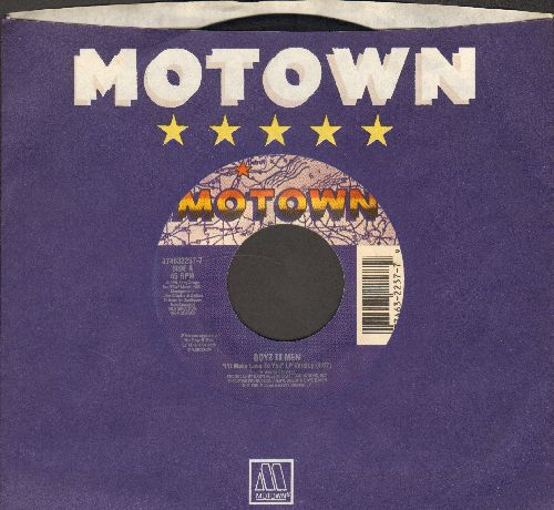 Boyz II Men - I'll Make Love To You/On Bended Knee (with Motown company sleeve) - EX8/ - 45 rpm Records
