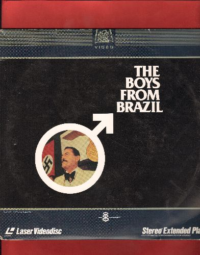 The Boys From Brazil - The Boys From Brazil - LASER DISC version of the 1982 Nazi-Themed Cult Classic starring Gregory Peck and Laurence Olivier. 2 LASER DISCS! - NM9/EX8 - Laser Discs