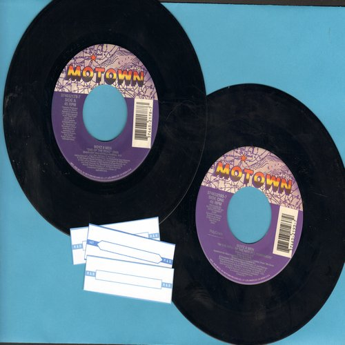 Boyz II Men - 2 for 1 Special: In The Still Of The Night/End Of The Road (2 original first issue 45rpm records for the price of 1!) - NM9/ - 45 rpm Records