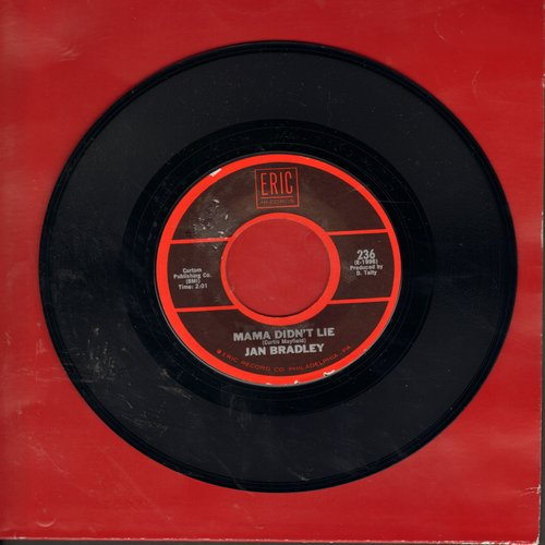 Bradley, Jan - Mama Didn't Lie/Rescue Me (by Fontella Bass on flip-side) (re-issue) - NM9/ - 45 rpm Records
