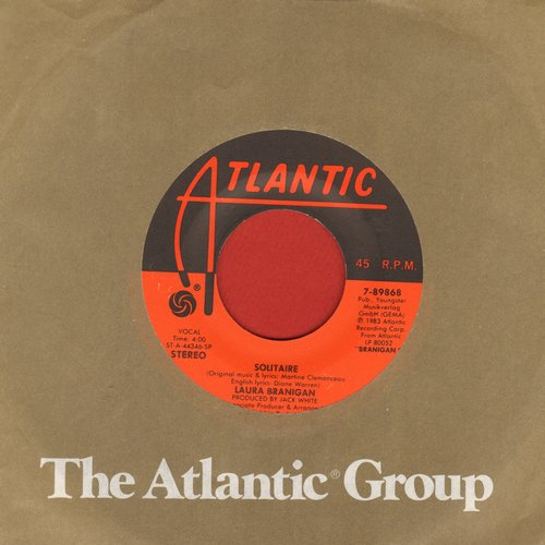 Branigan, Laura - Solitaire/I'm Not The Only One  - EX8/ - 45 rpm Records