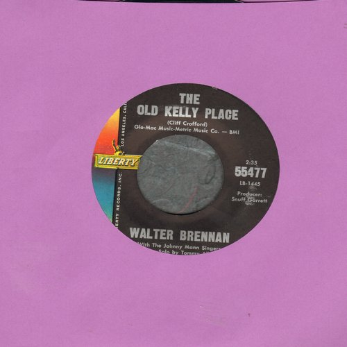 Brennan, Walter - The Old Kelly Place/Houdini - VG7/ - 45 rpm Records