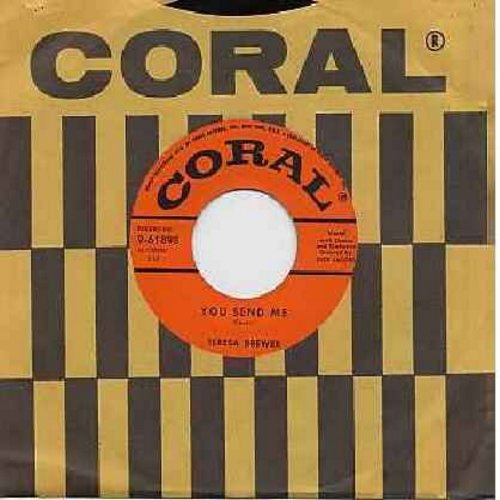 Brewer, Teresa - You Send Me/Would I Were (with Coral company sleeve) - EX8/ - 45 rpm Records