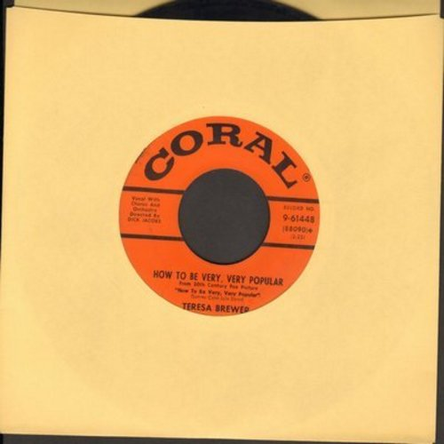 Brewer, Teresa - How To Be Very, Very Popular/The Banjo's Back In Town - EX8/ - 45 rpm Records