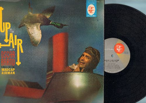 Brand, Oscar - Up In The Air: The Gooney Bird, Checklist Song, Passenger's Lament, The Masters Of The Air (vinyl MONO LP record) - NM9/EX8 - LP Records