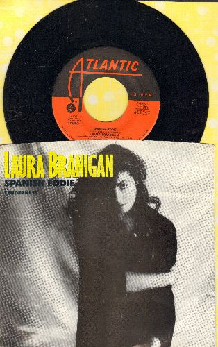 Branigan, Laura - Spanish Eddie/Tenderness (with picture sleeve) - EX8/VG7 - 45 rpm Records