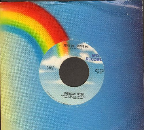 American Breed - Bend Me, Shape Me/Step Out Of Your Mind (double-hit re-issue with MCA company sleeve) - EX8/ - 45 rpm Records