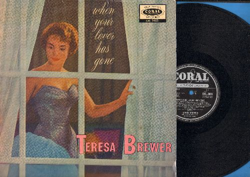 Brewer, Teresa - When Your Lover Has Gone: I Had The Craziest Dream, A Faded Summer Love, Mixed Emotions, Music Maestro Please, Fools Rush In (vinyl STEREO LP record, British Pressing) - EX8/EX8 - LP Records