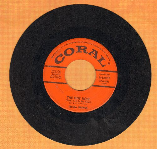 Brewer, Teresa - The One Rose (That's Left In My Heart)/Satellite  - VG7/ - 45 rpm Records