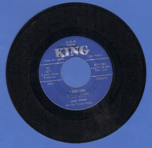 Brown, James - I Got You (I Feel Good)/I Can't Help It (I Just Do-Do-Do)  - VG7/ - 45 rpm Records