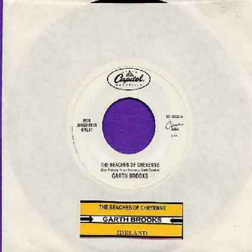 Brooks, Garth - The Beaches Of Cheyenne/Ireland (with juke box label) - NM9/ - 45 rpm Records