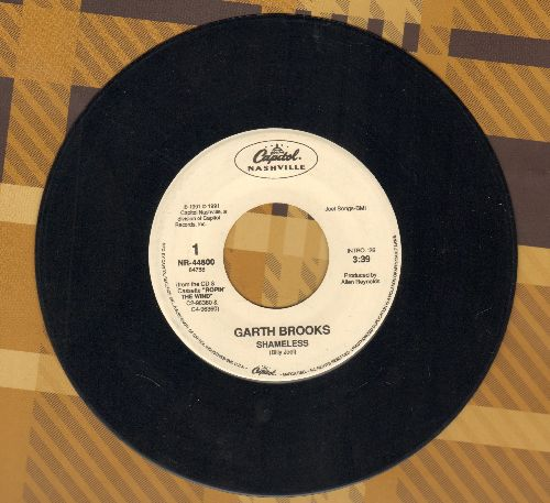 Brooks, Garth - Shameless/Against The Grain - EX8/ - 45 rpm Records