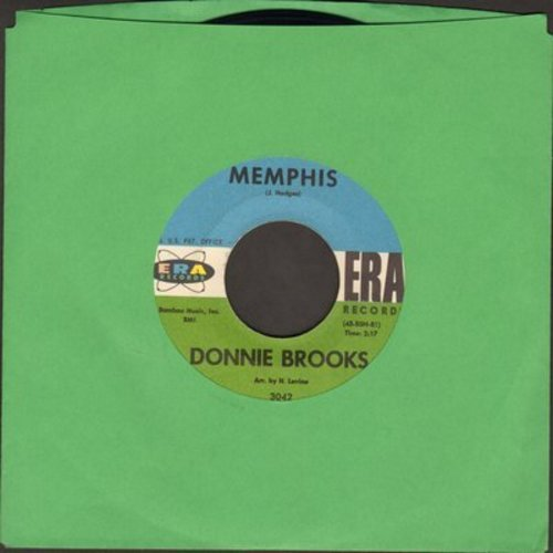 Brooks, Donnie - Memphis/That's Why  - EX8/ - 45 rpm Records