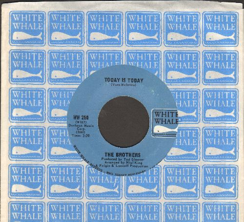 Brothers, The - (It'll All Wash Away) With The Rain/Today Is Today (with White Whale company sleeve) - NM9/ - 45 rpm Records