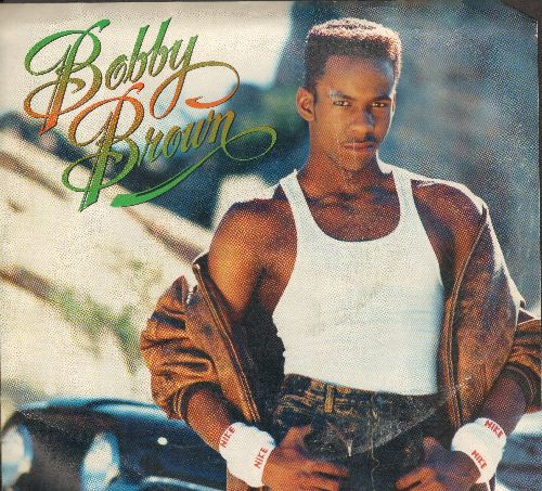 Brown, Bobby - My Prerogative/My Prerogative (Instrumental) (with picture sleeve) - NM9/EX8 - 45 rpm Records