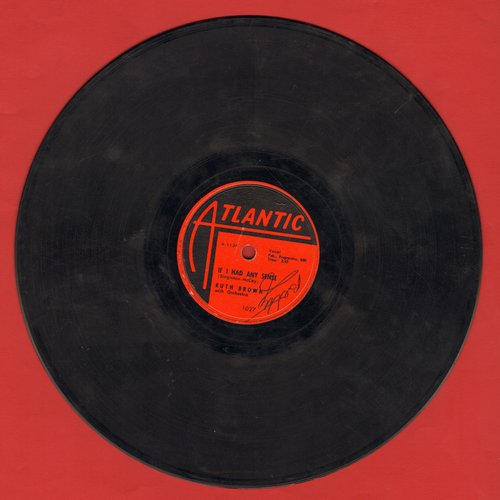Brown, Ruth - If I Had Any Sense/Hello Little Boy (RARE 10 inch 78 rpm record) - VG6/ - 78 rpm
