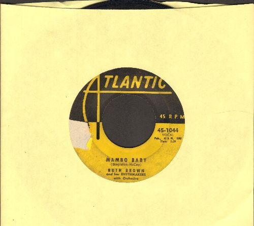 Brown, Ruth - Mambo Baby/Somebody Touched Me (yellow label early pressing) - G5/ - 45 rpm Records