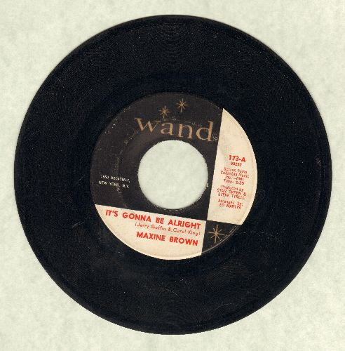 Brown, Maxine - It's Gonna Be Alright/You Do Something To Me - VG7/ - 45 rpm Records