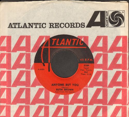 Brown, Ruth - Anyone But You/It Tears Me All To Pieces (with Atlantic company sleeve) - VG7/ - 45 rpm Records